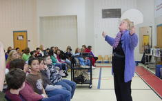 Visiting author Margery Cuyler