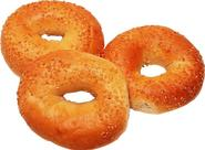 Whole grain bagels available for Breakfast or Lunch Daily!